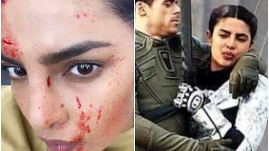Priyanka Chopra is currently filming Citadel.