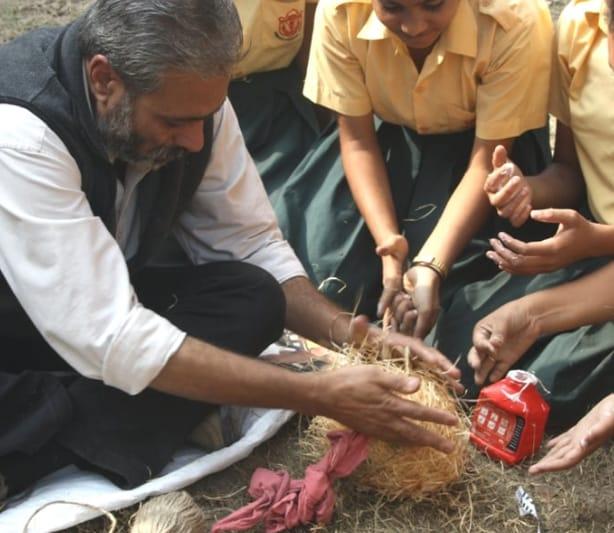 Rakesh Khatri taking a workshop.  (Facebook)