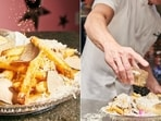 The image shows the world's most expensive French fries dish.(Instagram/@serendipity3nyc)