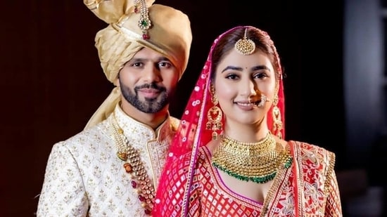 Rahul Vaidya and Disha Parmar(Instagram)