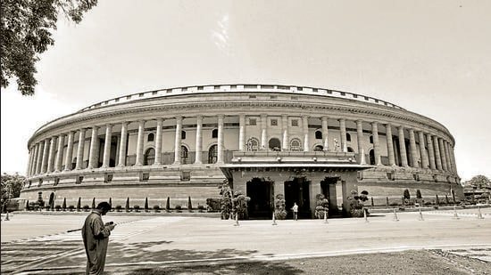 A view of the Parliament House. (HT Archive)