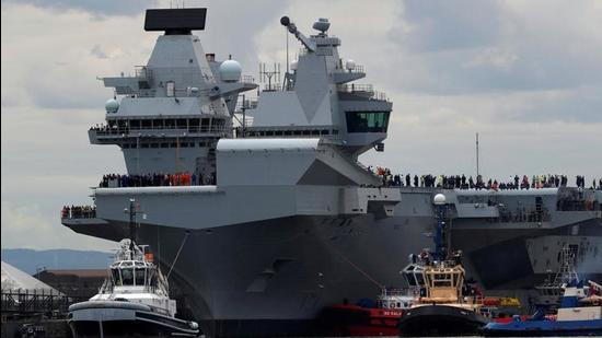 UK's largest warship HMS Queen Elizabeth. (File photo)
