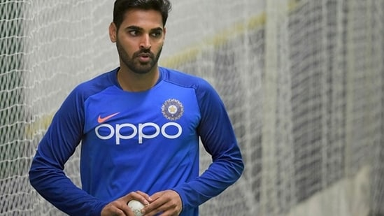 Bhuvneshwar Kumar during the 2019 World Cup. (Getty Images)