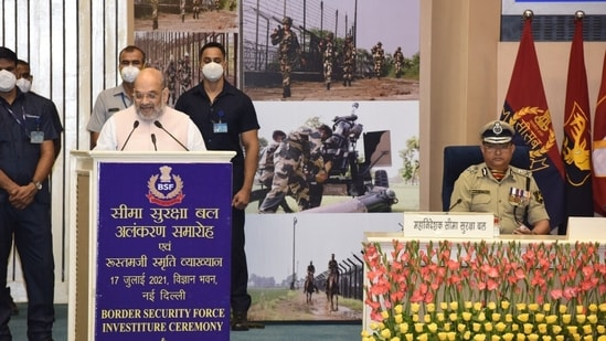 Amit Shah was speaking during the Border Security Force's (BSF's) investiture ceremony.