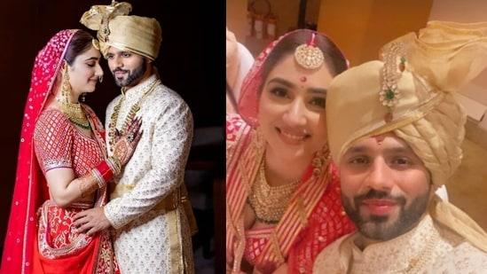 Rahul Vaidya and Disha Parmar tied the knot on Friday.
