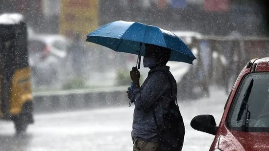 The weather department has predicted heavy to very heavy rainfall at isolated places in the state during the next 48 hours.(ANI file photo. Representative image)