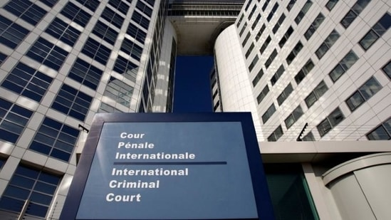 The entrance of the International Criminal Court (ICC) is seen in The Hague, Netherlands. (REUTERS/Jerry Lampen/File Photo)