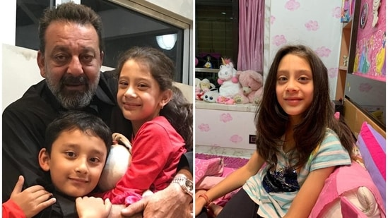 Sanjay Dutt's twins Shahraan and Iqra have verified accounts on Instagram.