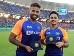 India vs Sri Lanka, 1st ODI team news: Suryakumar Yadav (L), Ishan Kishan (R) to make debuts; Yuzvendra Chahal, Kuldeep Yadav to play together.(BCCI)