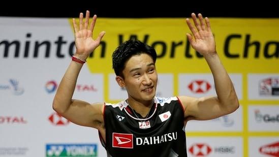 Tokyo Olympics: Badminton star Kento Momota grateful for chance after deadly crash.(REUTERS/FILE)