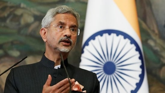 Jaishankar said India has made efforts to have cordial relations with its neighbours while ensuring that terrorism is treated as a global issue.(Reuters)