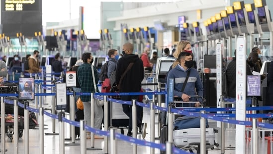 """France lifted travel restrictions for fully vaccinated travellers but advised against travel from France to countries on the """"red"""" list.(File image)"""