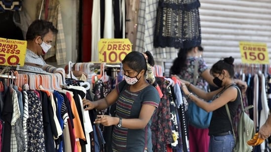 Delhi on Saturday recorded 59 Covid-19 cases and four deaths while the positivity rate dropped to 0.08 per cent, according to data shared by the health department.(Sanjeev Verma/HT photo)