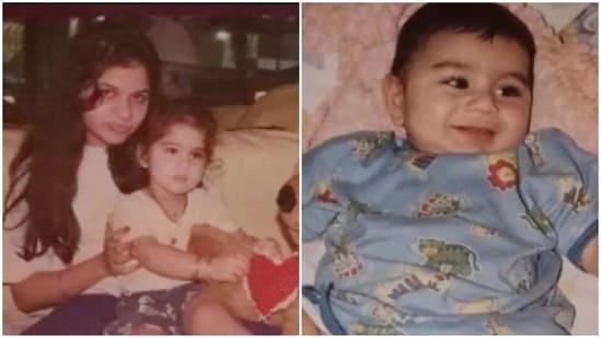Saba Ali Khan shared more pictures of Sara Ali Khan and Ibrahim Ali Khan.