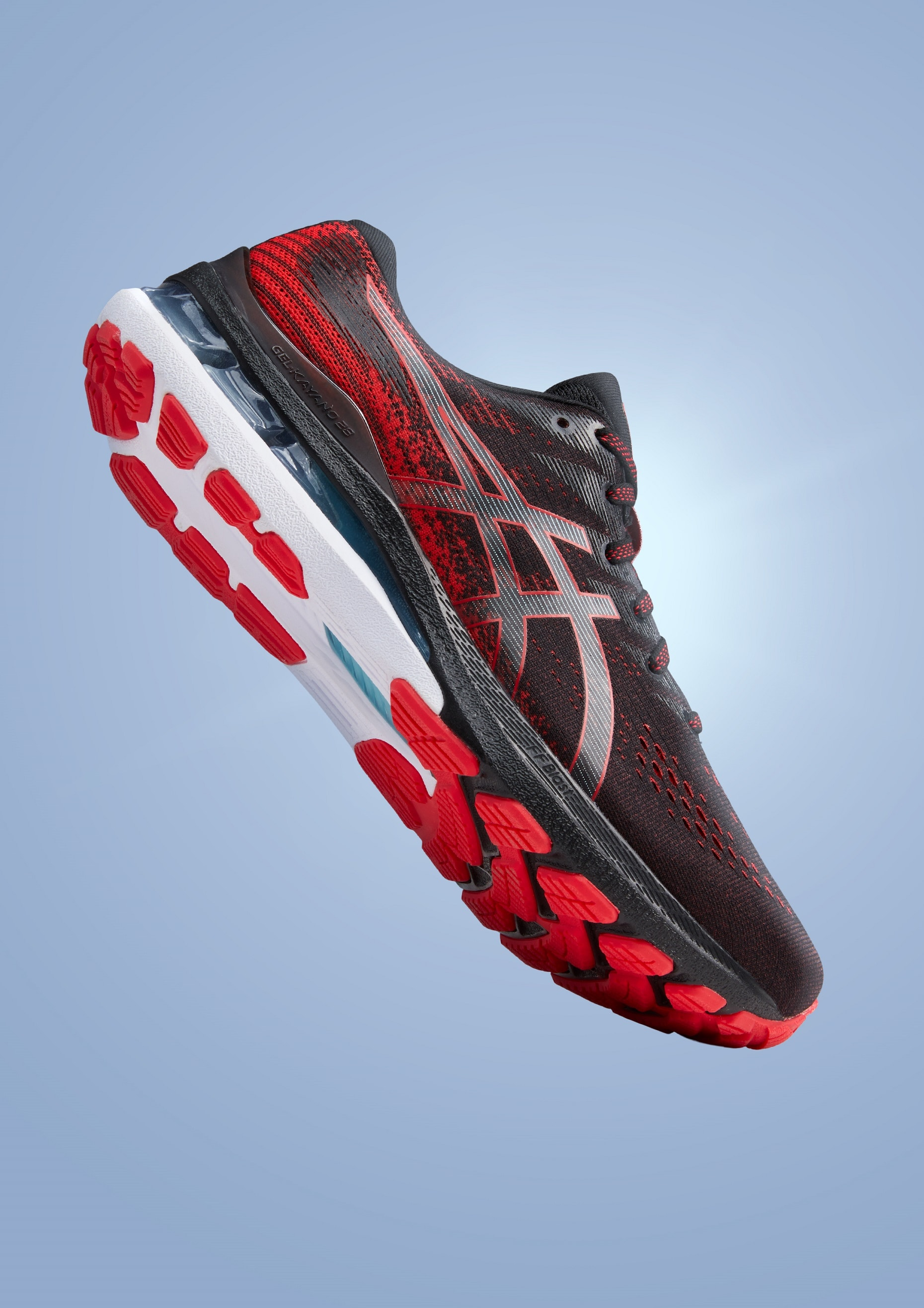 The comfortable Gel Kayano 28 running shoes by Asics