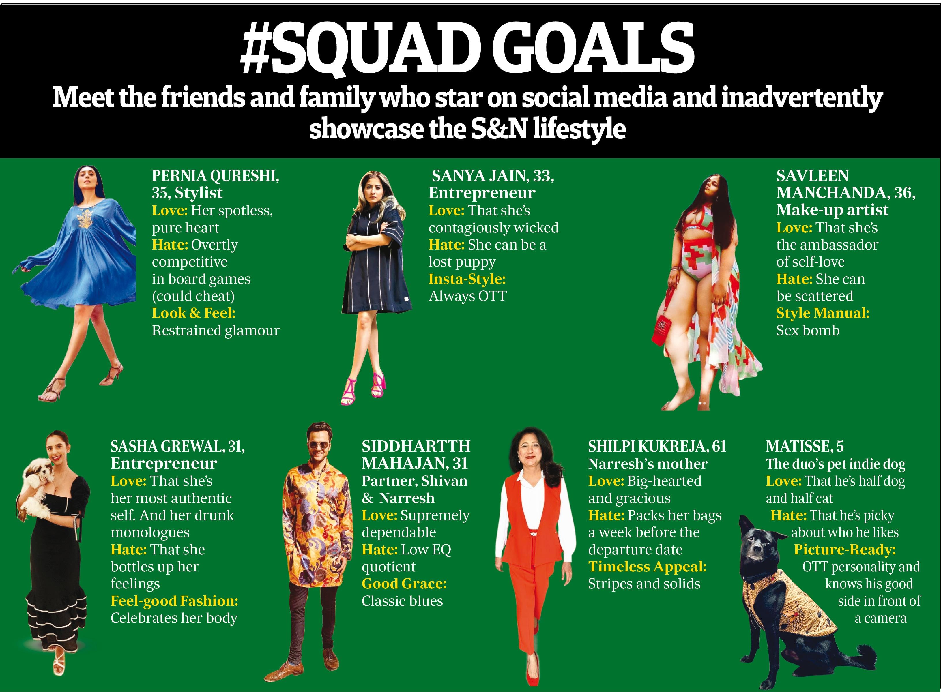Meet Shivan & Narresh's squad