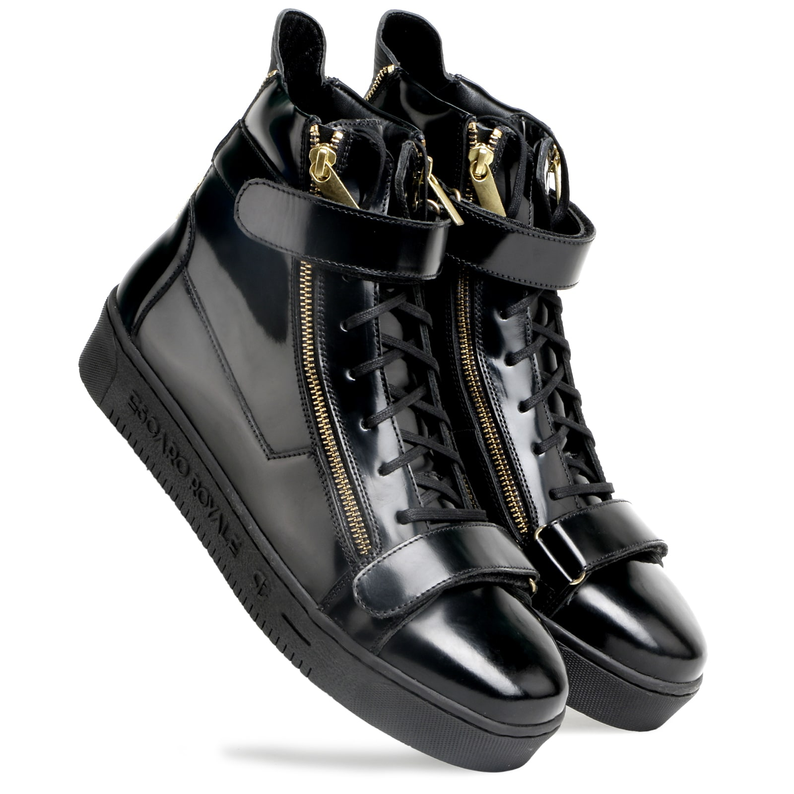 The trendy Phenom leather sneakers by Escaro Royale