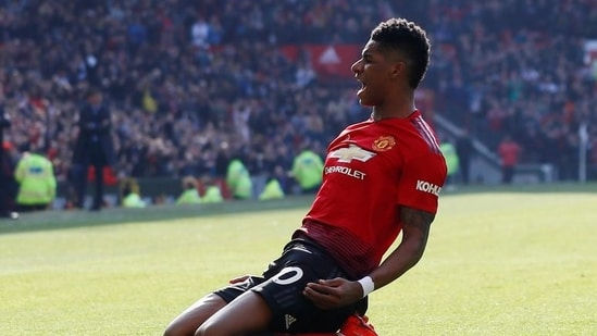 Manchester United's Marcus Rashford.(Action Images via Reuters)