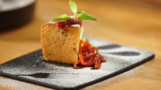 Carrot Halwa Cake(Chef Ranveer Brar)
