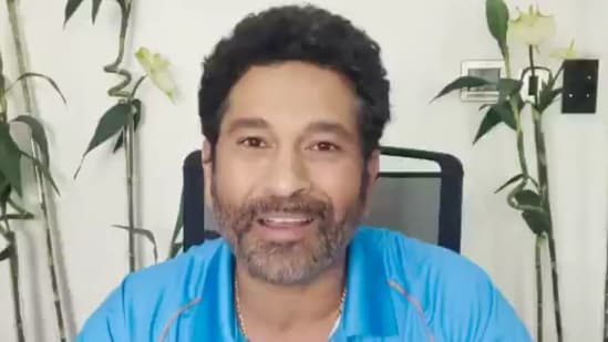 Sachin Tendulkar cheers for Olympic-bound Indian athletes(BCCI / Twitter)