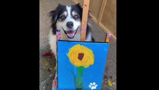 The image shows Secret with her creation.(Instagram/@my_aussie-gal)