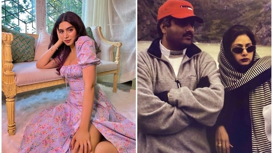 Khushi Kapoor is the younger daughter of Sridevi and Boney Kapoor.