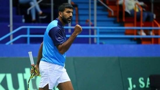 India's Rohan Bopanna(REUTERS)