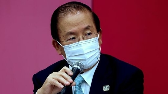 Tokyo 2020 CEO Toshiro Muto speaks during a press conference in Tokyo, Japan.(REUTERS)