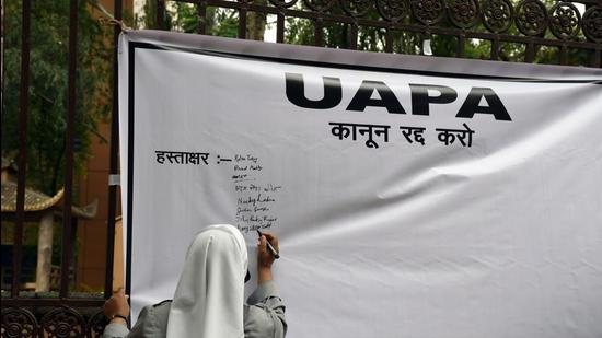 From 2016 to 2019, there were 5,922 arrests under UAPA, but it resulted in only 132 convictions, a pitiable rate of 2.2%. (Representational image/ANI)