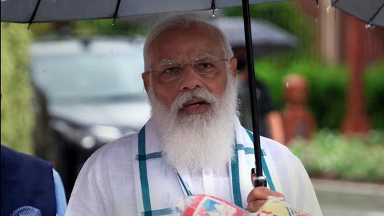 Prime Minister Narendra Modi. (Bloomberg)