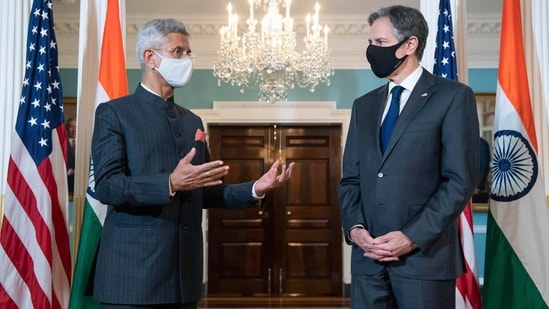 Antony Blinken and S Jaishankar have met thrice in the past one year, with the latest coinciding with Indian foreign minister's visit to the United States in May. (File photo/AP)
