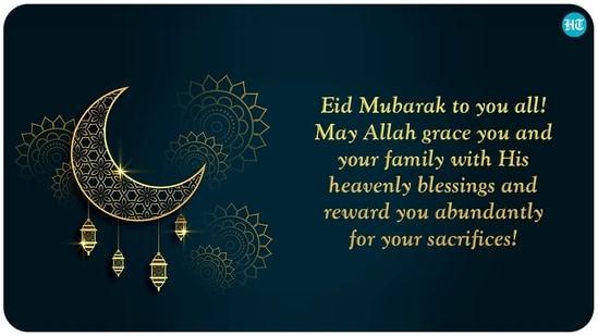 Idul Fitri untuk Anda semua!  Semoga Allah memberkati Anda dan keluarga Anda dengan berkah surgawi-Nya dan memberi Anda imbalan yang berlimpah atas pengorbanan Anda!