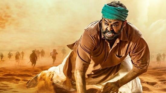 Venkatesh as Narappa in the Telugu remake of Dhanush's Asuran.