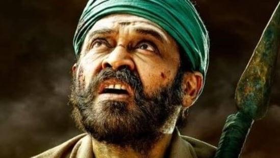 Venkatesh as Narappa in the Telugu remake of Asuran.
