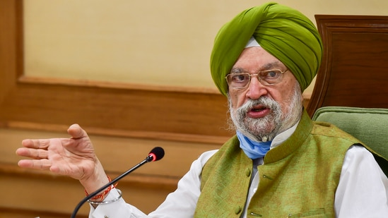 Union minister Hardeep Singh Puri hailed India as one leading manufacturers of Covid-19 vaccines. (File photo)
