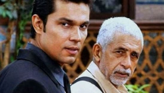 Randeep Hooda has worked with Naseeruddin Shah in a number of films like Moonsoon Wedding and John Day. He has also been associated with Naseeruddin's theatre group, Motley.