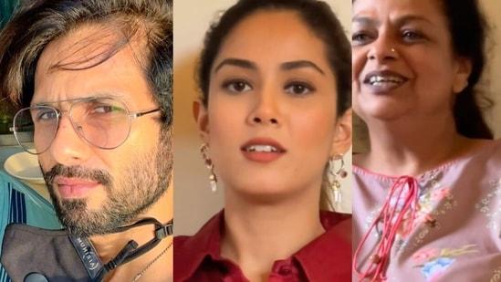 Mira Rajput shares a home video featuring Shahid Kapoor, Neliima Azeem and Ishaan Khatter.