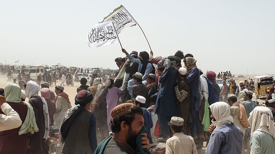 Capturing of Spin Boldak-Chaman crossing by the Taliban with the help of ISI means big money for buying weapons and ammunition for the fundamentalist force through extortion.(AFP Photo)