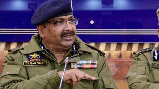 Director general of Jammu and Kashmir Police Dilbag Singh. (File photo)