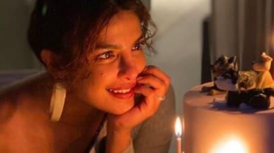 Priyanka Chopra celebrated her birthday on Monday.