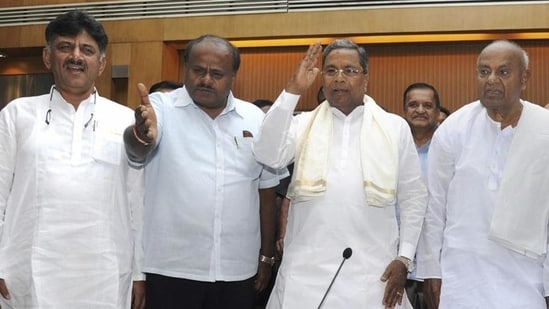 The outlet said the mobile phone number of Kumaraswamy's personal secretary Satish and Siddaramaiah's personal secretary Venkatesh were found in the list.(PTI Photo/ File/Representative)
