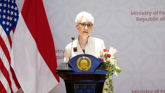 US Deputy Secretary of State Wendy Sherman will be the highest-ranking US official to visit China since President Joe Biden took office.(via Reuters)