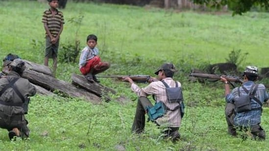 The rebels suspected that the missing persons had appeared for a police recruitment test, and hence, may have taken them in captivity.. (AFP/File Photo)(HT_PRINT)