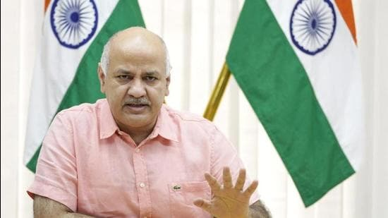 Delhi deputy chief minister Manish Sisodia. (File photo)