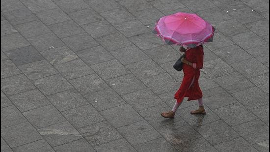 An initial orange category alert for July 21 and 22 was upgraded to red at 1pm by the IMD, indicating higher chances of severe weather events. (PTI)