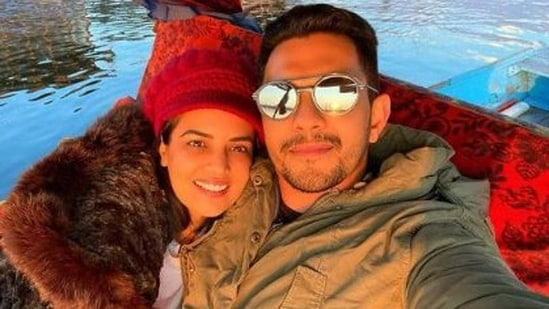 Aditya Narayan and his wife Shweta Agarwal tied the knot in 2020.