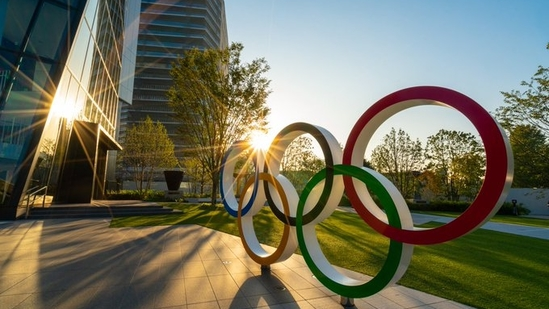 Olympic rings in Tokyo: File Photo(Twitter)