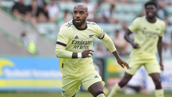 Arsenal's Alexandre Lacazette in action during a pre-season warm-up match (Representational image)(Getty Images)