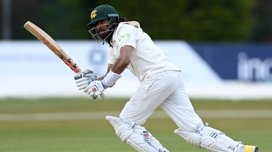 England's Haseeb Hameed in action(Getty Images)