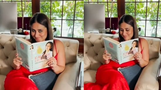 Kareena Kapoor shares a glimpse of her reading nook.